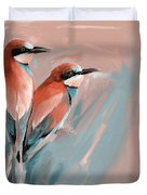 Painting 662 2 Bird 9 Duvet Cover
