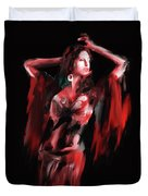 Painting 703 3 Dancer 8 Duvet Cover