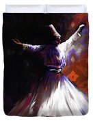 Painting 716 2 Sufi Whirl 2 Duvet Cover