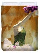 Painting A Ballet Dream Duvet Cover