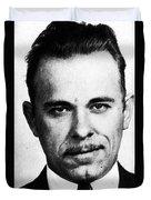 Painting Of John Dillinger Mug Shot Duvet Cover