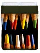 Painting Pencils Duvet Cover