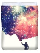 Painting The Universe Awsome Space Art Design Duvet Cover