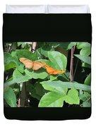 Pair Of Butterflies Duvet Cover