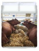 Pair Of Cows Duvet Cover