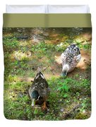 Pair Of Mallard Duck 5 Duvet Cover