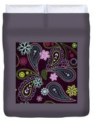 Paisley Abstract Design Duvet Cover
