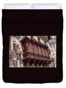 Palace Balcony Duvet Cover