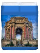Palace Of Fine Arts With Atmospherics  Duvet Cover