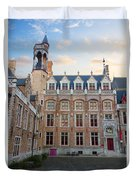 Palace Of Gruuthuse In Brugge Duvet Cover
