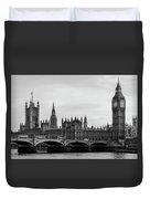 Palace Of Westminster And Elizabeth Tower Duvet Cover