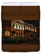 Palace Saloon Parking  Duvet Cover