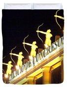 Palacio De Congresos Duvet Cover