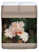 Pale Iris Duvet Cover