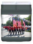 Palenville Fire Department 3 Duvet Cover