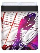 Paleo Rex Duvet Cover