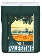 Palestine Duvet Cover by Georgia Fowler