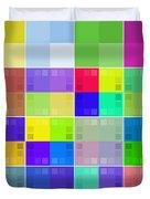 Palettes Duvet Cover