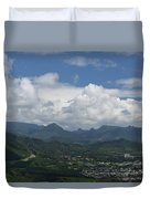 Pali Overlook Duvet Cover