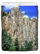 Palisades - Cimarron Canyon State Park - New Mexico Duvet Cover