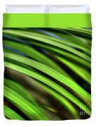 Palm Abstract By Kaye Menner Duvet Cover