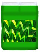 Palm Abstract Duvet Cover