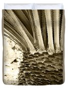 Palm Abstraction Duvet Cover
