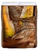Palm Bark Duvet Cover