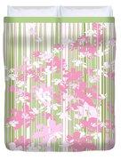 Palm Beach Floral II Duvet Cover