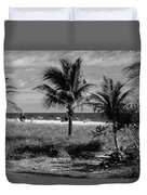 Palm Beach Road Trip Duvet Cover