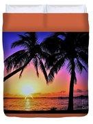 Palm Bliss Duvet Cover