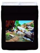 Palm Canyon Park Duvet Cover