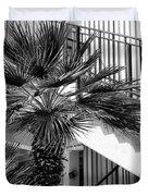 Palm Chevron Palm Springs Duvet Cover