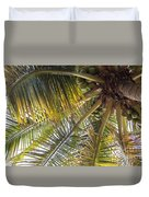Palm Collection - Coconuts Are Fine Duvet Cover