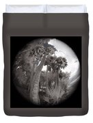 Palm Community Duvet Cover
