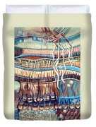 Palm Contractions Duvet Cover