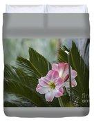 Palm Flower Duvet Cover