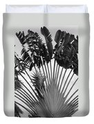 Palm Frons Duvet Cover