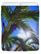 Palm Gazing Duvet Cover