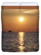 Palm Harbor Florida Duvet Cover