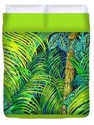 Palm Leaves Duvet Cover