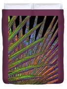 Palm Meanings Duvet Cover