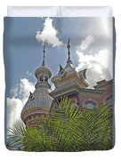 Palm Of The Dome Duvet Cover