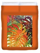 Palm Patterns 2 Duvet Cover