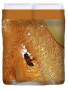 Palm Pollination Duvet Cover