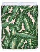Palm Print Duvet Cover by Lauren Amelia Hughes