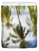 Palm Reflections Duvet Cover