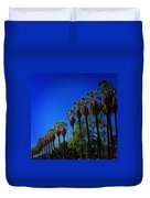 Palm Row Duvet Cover
