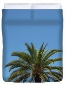 Palm Sky Duvet Cover