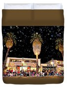 Palm Springs Holiday Parade 2015 Duvet Cover